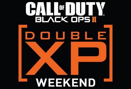 Black Ops 2 Double XP Dates