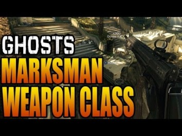 Ghosts Marksman Rifle Class