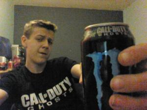 Call of Duty Ghost Monster Cans